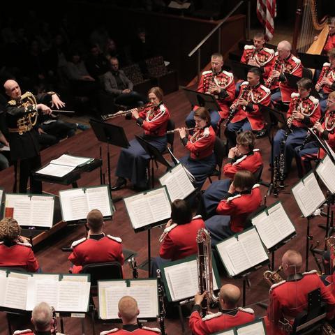 photo of United State Marine Band