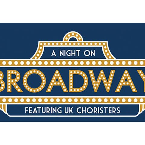 photo of calendar art for UK Choristers' Night on Broadway