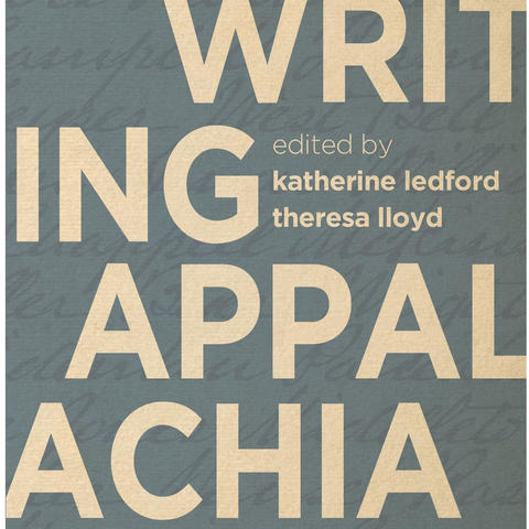 "Cover detail of ""Writing Appalachia"""