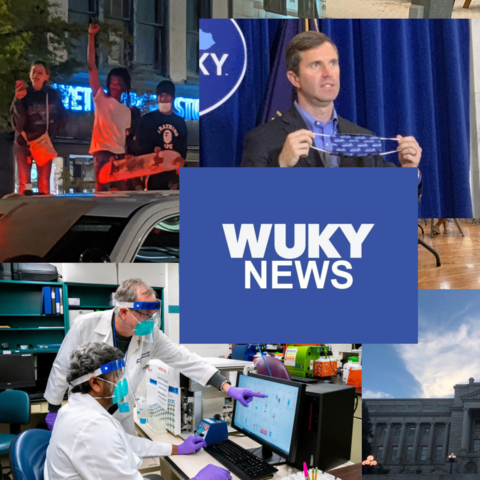 WUKY News banner with photo collage