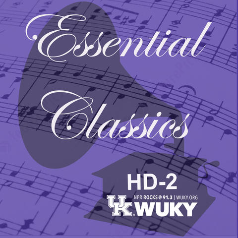 """Detail of WUKY poster for """"Essential Classics"""""""