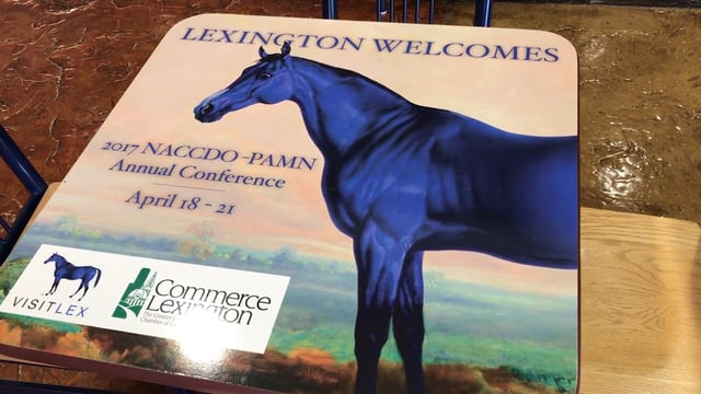 Thumbnail of video for Highlighting Lexington's Local Flair, Markey Hosts Successful Conference for Cancer Communicators