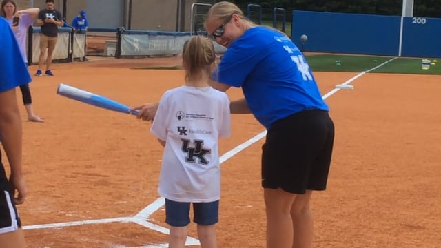 Thumbnail of video for Young Patients Learn There are No Limits with UK Baseball and Softball