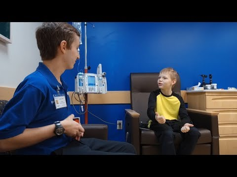 Thumbnail of video for VIDEO: Once a Patient, Now a Survivor — UK Junior Inspires Others