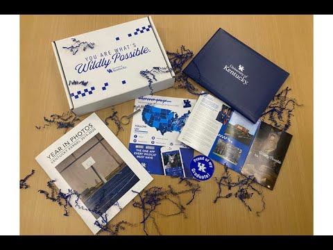 Thumbnail of video for UK Delivers Surprise Grad Boxes to Spring 2020 Graduates