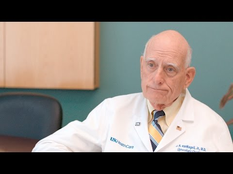 Thumbnail of video for 30 Years and Going Strong: Markey's Van Nagell on the Legacy of the Ovarian Cancer Screening Program