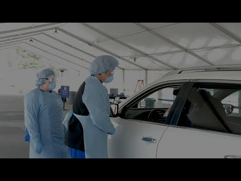 Thumbnail of video for UK HealthCare to Begin Drive-Thru COVID-19 Testing for Frontline Employees